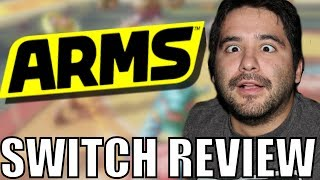 Arms (Nintendo Switch) Game Review | 8-Bit Eric