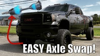 How To Replace Duramax Front CV Axle In 10 Minutes! Fast & Easy