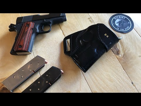 Craft Holsters - Grizzly SOB Holster Review for a Compact Colt 1911 - PITD