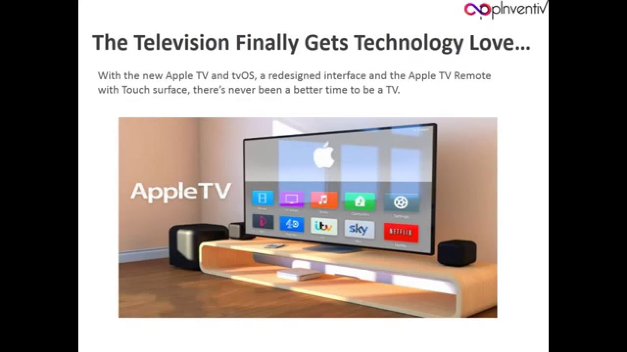how to connect apple tv to television