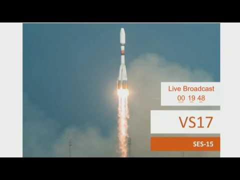 Arianespace Soyuz VS17 Launching SES-15 Satellite - Mirror And Discussion - Copyright US Version