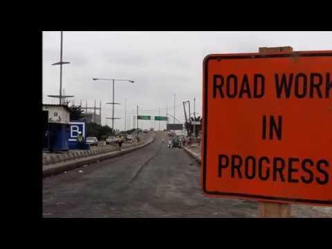 Construction of Apapa Bridge. Lagos, Nigeria