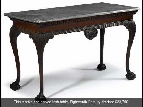 Freeman's April 30th Auction of American Furniture, Silver and Decorative Arts.