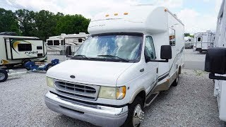 2002 Dynamax Carri-Go 2310 Small Class B+ , Low Miles, Stationary Bed, $22,900