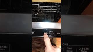 Kitchenaid Dishwasher Reset Instructions