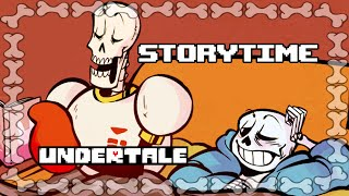 [UNDERTALE] Story Time (Comic Dub)