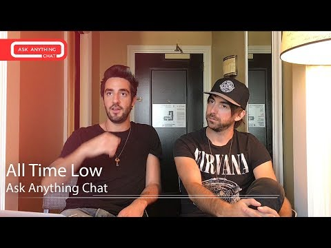 "All Time Low Talk About ""THE ALEX LEG THING"".  Watch Part 1"