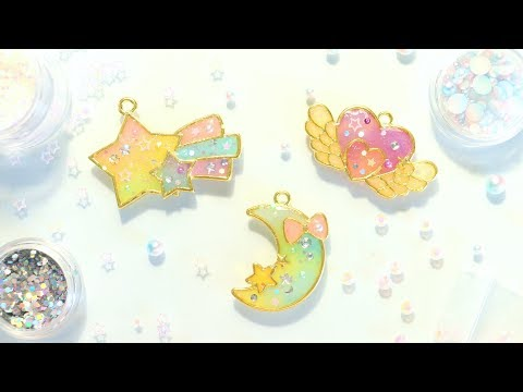 Magical Rainbow Bezels│Watch Me UV Resin