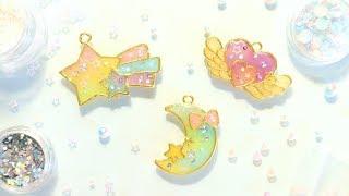 Magical Rainbow Bezels│Watch Me UV Resin