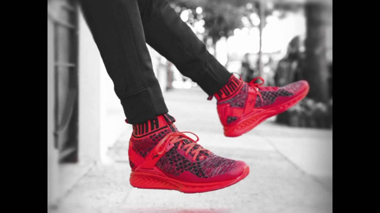 puma ignite 3 on feet