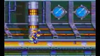 Sparkster SNES level one