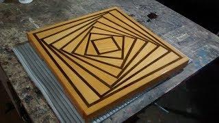 Belíssima tábua de corte visâo  3D