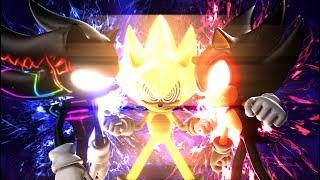 Dark Hyper Sonic and Dark Sonic.EXE V.S. Fleetway Super Sonic - The Finale [Animation] ソニック v. ソニック