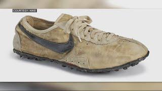 Rare Nike 'Moon Shoes' set record at