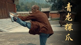 Why You Slap Your Foot in Kung Fu Forms