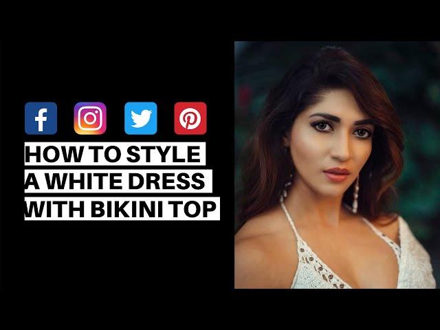 How to style a White Dress like Iti Acharya