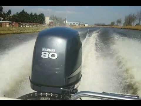 Test vaart yamaha f 80 2012 buitenboordmotor achter for Winterizing yamaha 300 outboard