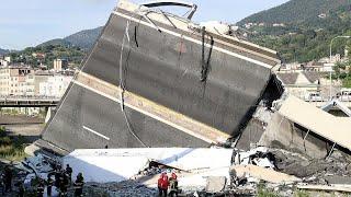 Crollo a Genova, si continua a scavare