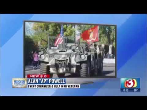 "Herozona 2017 - Alan ""AP"" Powell on azfamily 3 news"