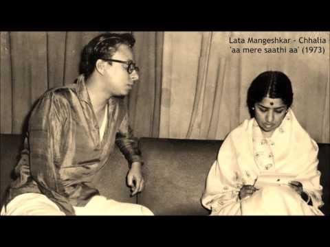 Lata Mangeshkar - Chhalia (1973) - 'aa mere saathi aa'