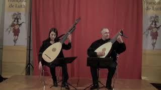 SL.Weiss - JS.Bach - Lute duo : Anna Kowalska & Anton Birula