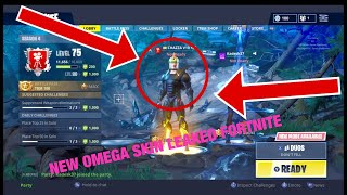 ABC FORTNITE *NEW* OMEGA SKIN LEAKED NOT CLICKBAIT WATCH 2018