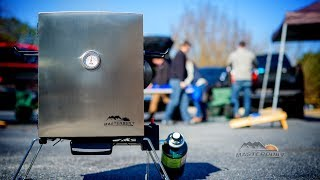 the masterbuilt portable smoker features and benefits
