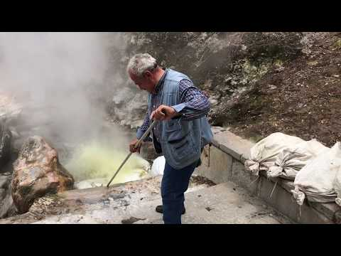 Cooking Corn in Geothermal Heat Azores