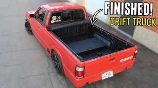 homepage tile video photo for Finishing and Bed-lining the DRIFT TRUCK's BED!