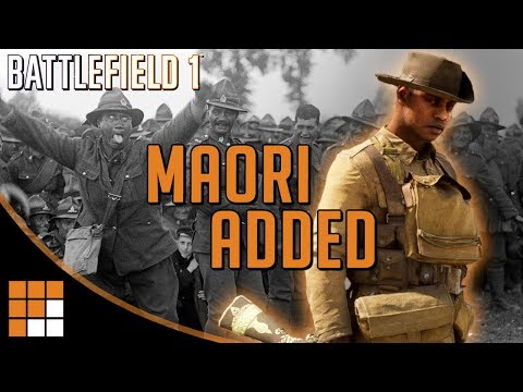 It's Haka Time: Maori Soldiers Added in Battlefield 1's Turning Tides DLC