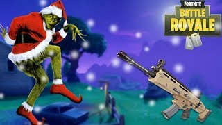 Greedy Grinch Gets Rekt - Fortnite: Battle Royal