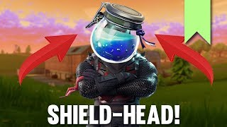 SHIELD-HEAD GLITCH! | FORTNITE FUNNY FAILS AND BEST MOMENTS #027