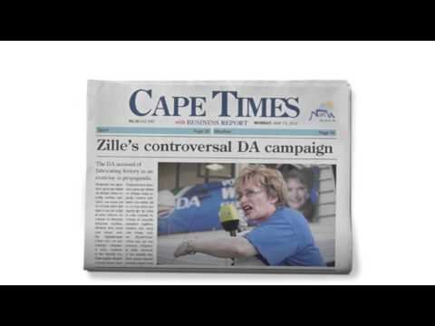 Cape Times: Selfies Radio, Helen Zille