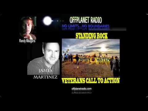James Martinez:  Standing Rock Lakota Sioux  Veterans Call To Action