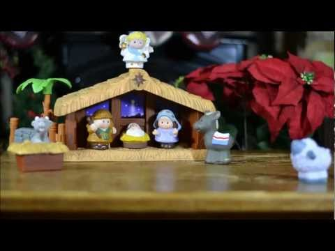 Little People -- Nativity Scene
