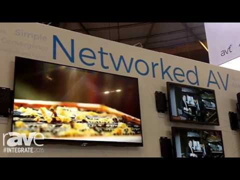 Integrate 2016: AVT Showcases Audio Video Control Continum with AMX and Harman Products