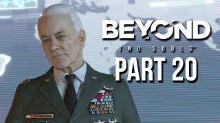 Beyond Two Souls Part 20 Gameplay Walkthrough - Hauntings & Black Sun