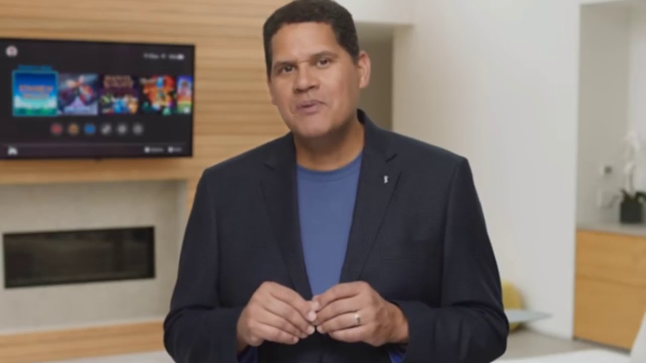 Reggie Can't Wait To Play Fortnite