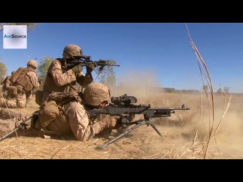 US Marines - Company Live Fire Attack Exercise