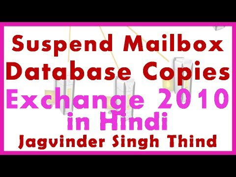 exchange server 2010 suspend or resume mailbox database copy