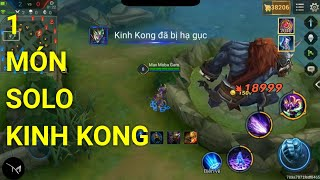 Phát minh HIẾM hoi Mganga 1 món đồ đánh thường chết King Kong - Nanh Fenrir hủy diệt Liên quân