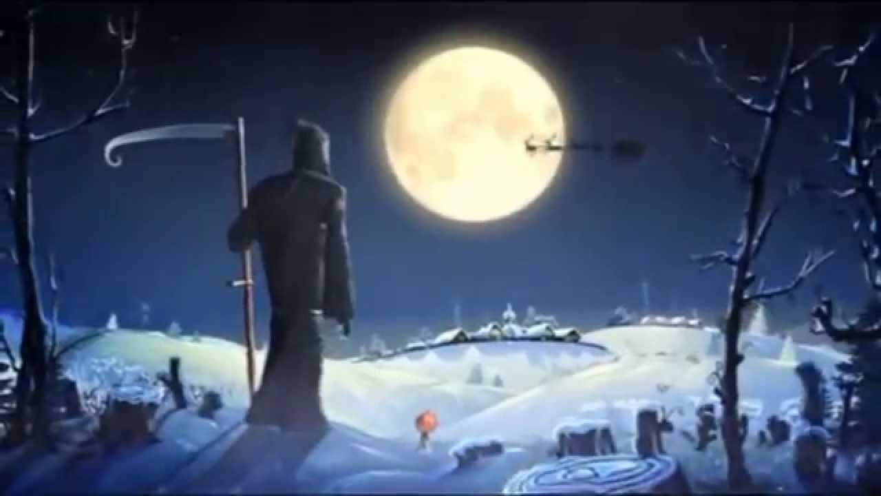 The Grim Reaper's Merry Christmas - YouTube