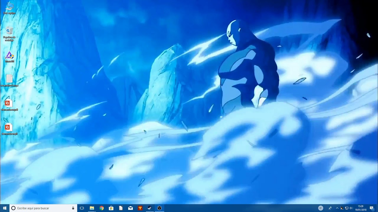 Jiren Wallpaper Engine