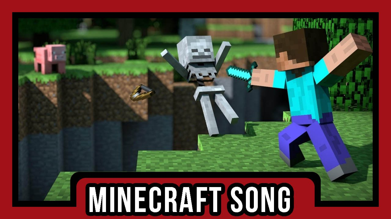 Minecraft song face the mob