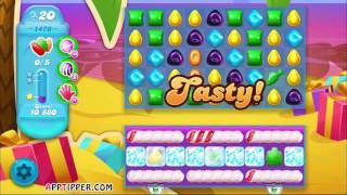 Candy Crush Soda Saga Level 1478 - 6 Moves Left - No Boosters