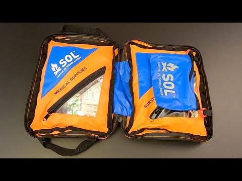 3 kits in 1! The SOL Hybrid 3 Survival Kit