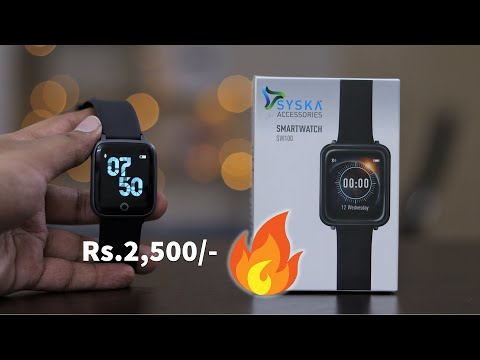 Syska SW100 Smartwatch | Just ₹2,500/- | Unboxing & First Impressions