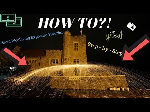 Long Exposure Photography Tutorial (Steel Wool DANGEROUS) thumbnail