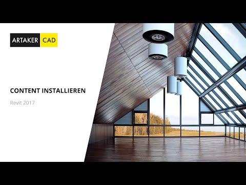 Autodesk Revit 2017 Content installieren