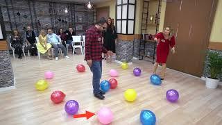 Evlilik Okulu İlknur Mehmet Balon Oyununu
